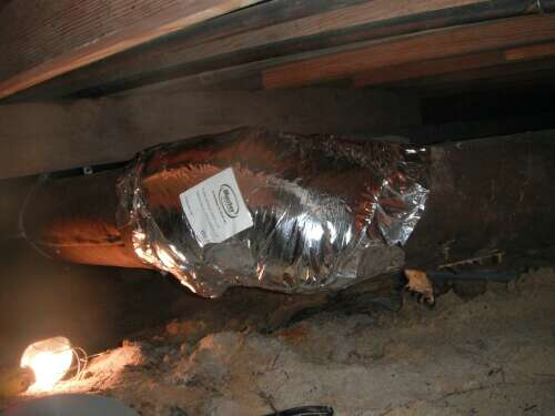 replace insulation